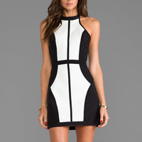 Finders Keepers Winter Birds Dress in Black/Ivory from REVOLVEclothing.com