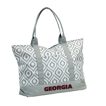 Georgia Bulldogs NCAA Ikat Tote