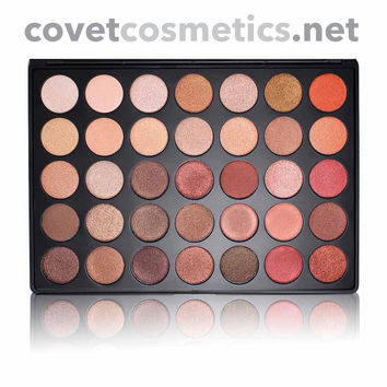 Morphe 35 Color Nature Glow Shimmer Palette - 35OS