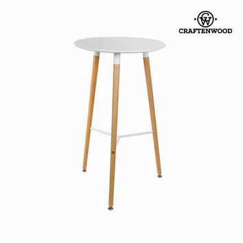White bar table by Craften Wood