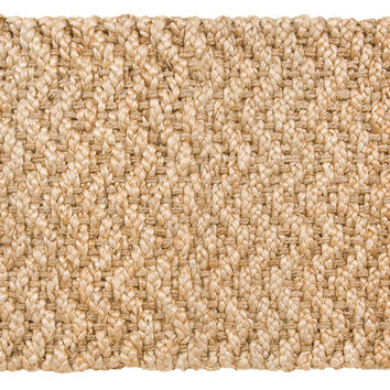 Herringbone Jute Rug, Gold, Area Rugs