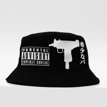 KYC Vintage — UZI x Parental Advisory Bucket Hat