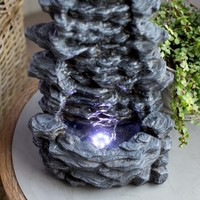 Belham Living Hudson Rock Table Top Fountain | Hayneedle