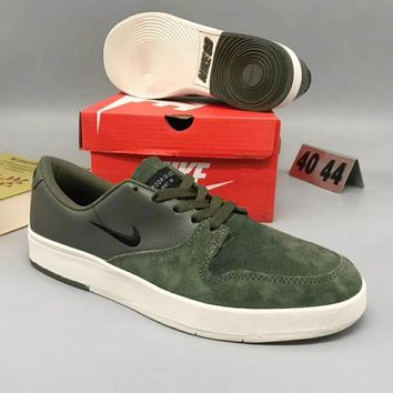 Nike SB Zoom Stefan Janoski Autumn Winter Casual Shoes Army Green I-CSXY