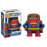 Domo Superman Pop Heroes Vinyl Figure