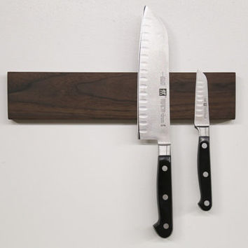 Magnetic Knife Block [Walnut]