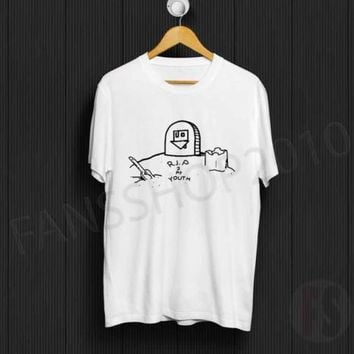 THE NEIGHBOURHOOD RIP 2 My Youth 2015 Wiped Out Beach White T Shirt Size S to XL