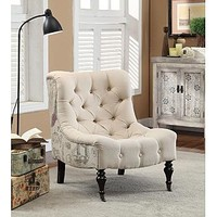Tiffany Accent Chair - Home - Furniture - Living Room Furniture - Living Room Chairs