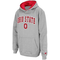 Ohio State Buckeyes Youth Gray Automatic Hoodie Sweatshirt