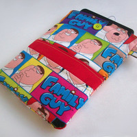 Family Guy Kindle Cover / Peter Griffin Nook Case / Ereader Sleeve / Tablet