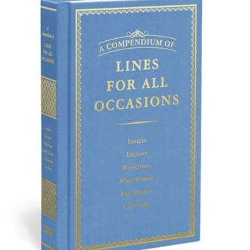 Compendium of Lines for All Occasions