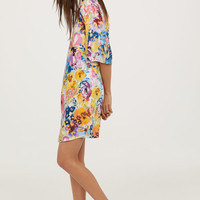 H&M Trumpet-sleeve Dress $24.99