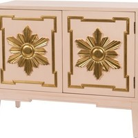 Heliacal Cabinet - Pink and Gold