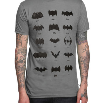 DC Comics Batman Title Logos T-Shirt