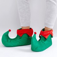 Loungeable Christmas Elf Slipper at asos.com