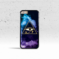 The Eye of Horus Case Cover for Apple iPhone 4 4s 5 5s 5c 6 6s Plus & iPod Touch