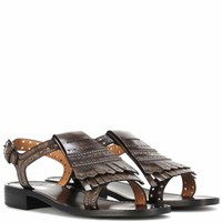 Rochelle leather sandals