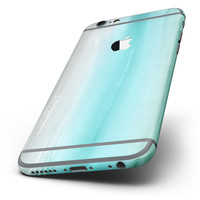 The Lined Mint 9672 Absorbed Watercolor Texture Six-Piece Skin Kit for the iPhone 6/6s or 6/6s Plus