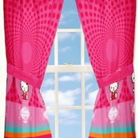 Sanrio Hello Kitty Love Kitty 63-Inch Drapes