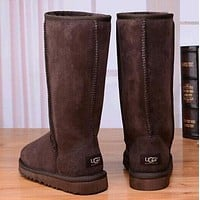 UGG classic wool high boots F Coffee