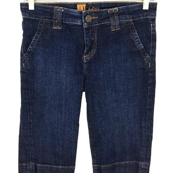 Kut From the Kloth Jeans Shorts Style kb646ma4m Long Length Womens 6 - Preowned