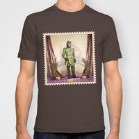 General Simian of the Glorious Banana Republic T-shirt by Peter Gross