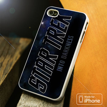 Star Trek Darkness Logo iPhone 4 5 5C SE 6 Plus Case