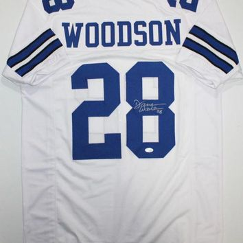 ESBONY Darren Woodson Signed Autographed Dallas Cowboys Football Jersey (JSA COA)