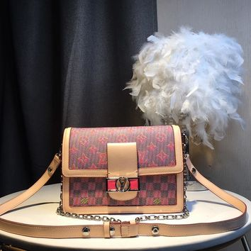 Kuyou Gb59918 Lv Louis Vuitton Monogram Lv Pop Handbags All Handbags Dauphine Mm