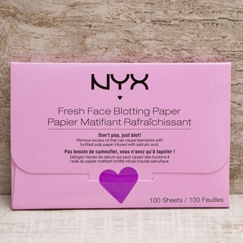 NYX Face Blotting Paper - Fresh Face