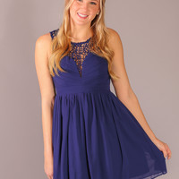 Here's to You Dress - Navy
