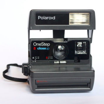 TESTED Polaroid One Step Closeup 600 Camera | Working Instant Film Photography Vintage Retro
