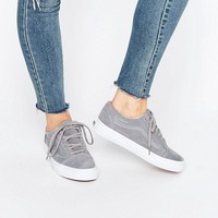 Vans Old Skool Grey Suede Trainers at asos.com