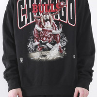 Vintage Chicago Bulls Crewneck Sweatshirt Sz L – F As In Frank Vintage