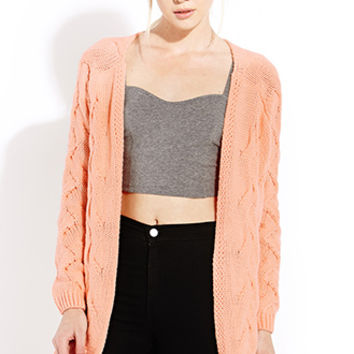 FOREVER 21 Cozy Chunky Knit Sweater