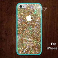 glitter iPhone 5 Case, sparkle iPhone 5 Case, glitter iPhone Case, graphic iphone 5 case, SALE