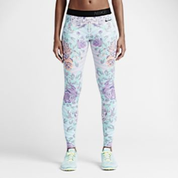 Nike Pro Floral Fade Women's Training Tights