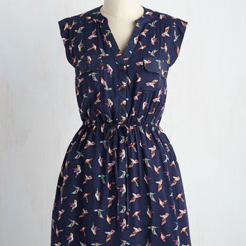 Winsome in the Wings Dress | Mod Retro Vintage Dresses | ModCloth.com