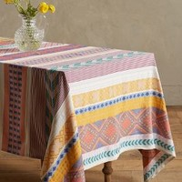 Sonora Tablecloth by Anthropologie in Multi Size: Large Tablecloth Kitchen
