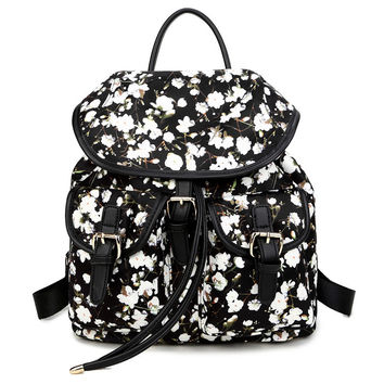 Hot Deal Back To School Comfort Casual College On Sale Stylish Print Korean Backpack [4915455556]