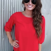 Red Bow Blouse | The Rage