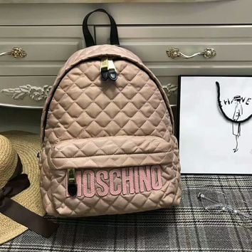 """MOSCHINO""Fashion trend backpack"