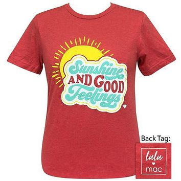 Girlie Girl Originals Lulu Mac Sunshine And Good Feelings T-Shirt