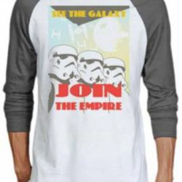 Star Wars Baseball Jersey Shirt - See The Galaxy