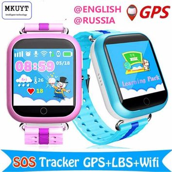MKUYT GPS WIFI  Q750  baby smart watch 1.54inch touch screen SOS Call Location Device Tracker for Kid Safe for all mobile phones