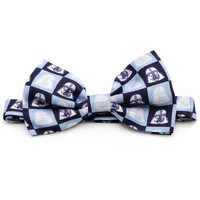 Star Wars Darth Vader Navy Tiles Mens Bow Tie