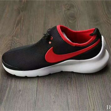 """NIKE"" Running Sport Casual Shoes Sneakers black red"