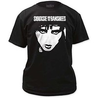 Siouxsie & The Banshees Face Mens Tee
