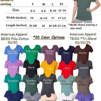 Womens LOBSTER T Shirt - American Apparel Tshirt - S M L XL (20 Color Options)