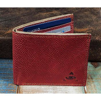 7-Slot Bifold Wallet - The Classic (Horween Football Leather)